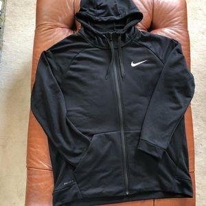 Nike Dri Fit Full Zip Hoodie Men's XL